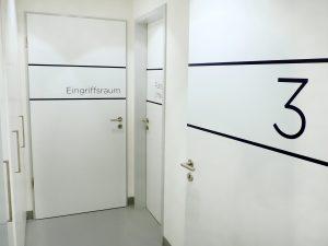 Eingriffsraum mit Aufwachraum