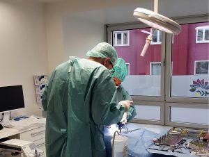 Chirurgischer Eingriff